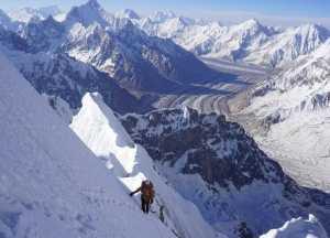 Непройденный шеститысячник Пумари Чхиш Восточный: французско-британская команда отступает в 100 метрах от вершины