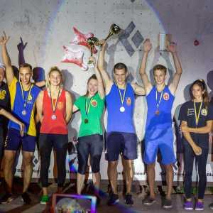 В Мариуполе состоялся первый в сезоне Чемпионат Украины по скалолазанию в дисциплине скорость