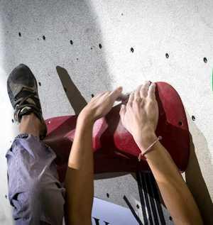 Маргарита Захарова и Федор Самойлов  - Чемпионы Украины по боулдерингу