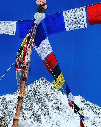 восьмитысячник К2 (Чогори) высотой 8611 метров. Фото Валентин Сипавин