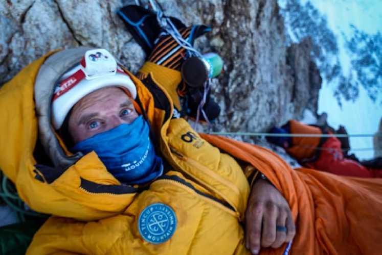 На западном гребне восьмитысячника К2. Фото Graham Zimmerman