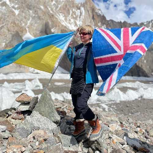 Сходження на К2. Фото Оксана Літинська