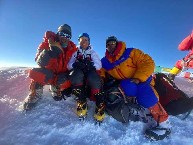 Між першим та другим табором. Сходження на К2. Фото Оксана Літинська