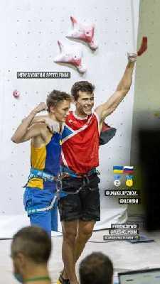 Одессит Григорий Ильчишин завоевал серебро Чемпионата Мира по скалолазанию