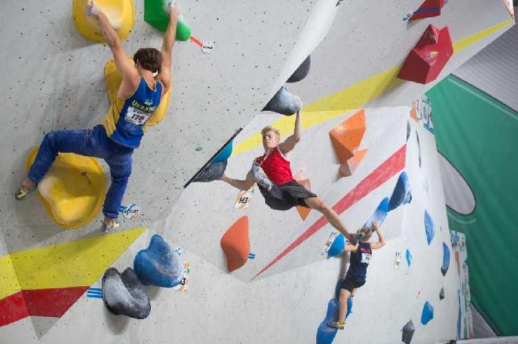 молодежный Чемпионат Мира по скалолазанию 2021 года