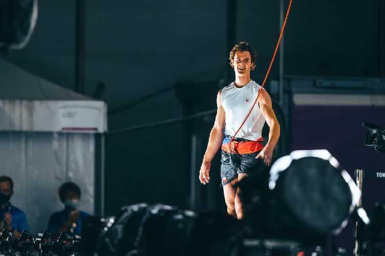 Адам Ондра (Adam Ondra) на Олимпиаде в Токио
