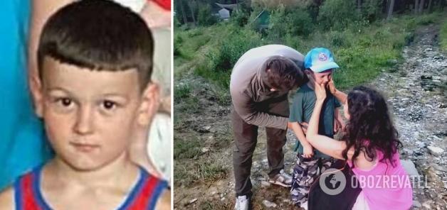 В Карпатах спустя сутки нашли 6-летнего Алексея Стефанцева