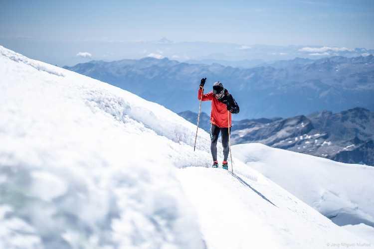 Мануэль Мерильяс (Manuel Merillas) в восхождении на Монте Роза (Monte Rosa, 4634м)