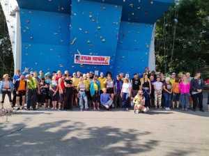 В Одессе прошел Кубок Украины по скалолазанию среди ветеранов