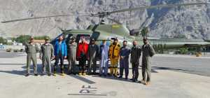 Последствия спасательной операции на горе Ракапоши