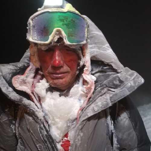 Один из спасённых на Эльбрусе