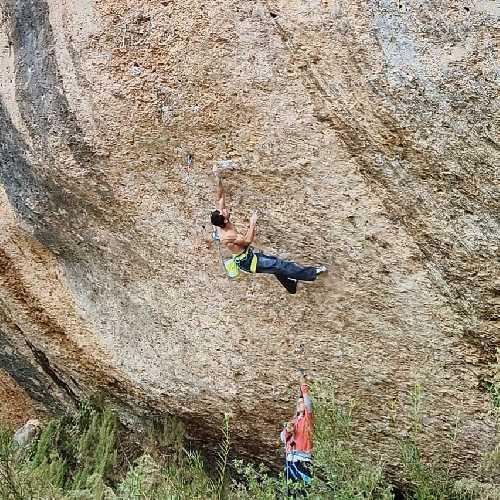 "Рамон Джулиан Пигбланк (Ramon Julian Puigblanque) на маршруте ""Wild West"" категории 9а/+"