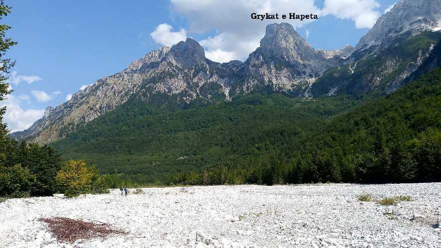 Гора из ущелья Валбоне. Фото Павел Швец