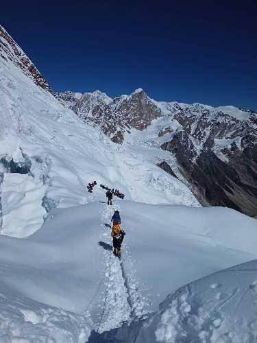 Экспедиция на восьмитысячник Манаслу (Manaslu, 8156 м), осень 2021. Фото Владимир Рошко