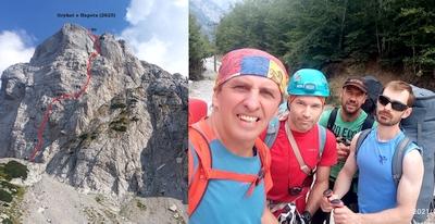 Украинские альпинисты открыли в Албании новый маршрут