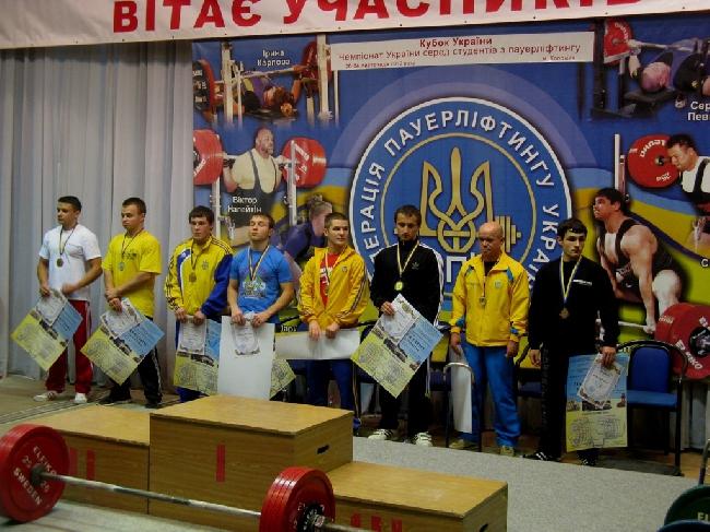 Чемпіонат України з пауерліфтингу