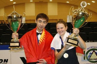 Победители Чемпионата Мира 2010. Фото icp-billiard.org