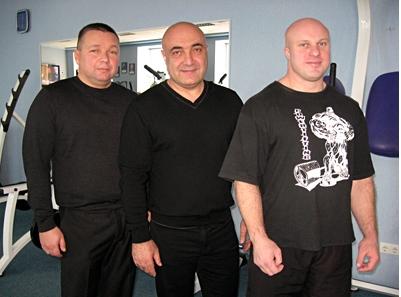 www.poltava.pl.ua   Владимир Ленец, Лерник Матосян и Михаил Буланый