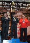 Результаты турнира по жиму штанги лежа на призы президента WPC-WPO Украина