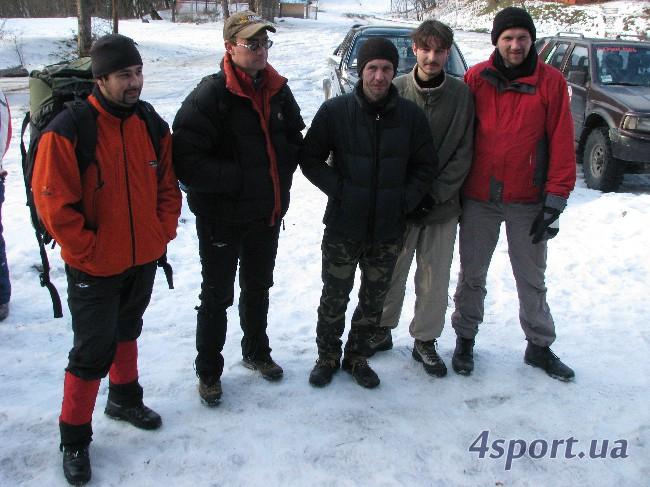 Мои сокомандники (первоначальный состав) - фото Д. Киселёва