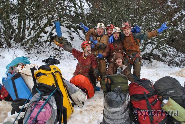 Экспедиция в Пастушью, январь-2011, фото Пряшникова