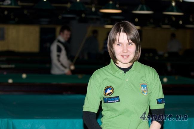 Виктория Нагорная, тренер национальной сборной по пулу и многократная абсолютная чемпионка Украины