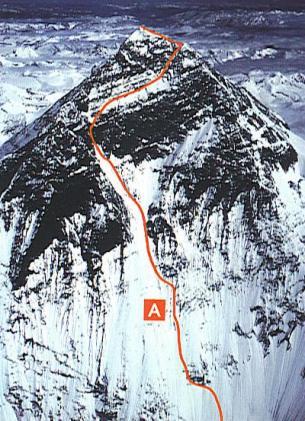 Первопрохождение по Юго-западной стене Эвереста, с лагерем под самой вершиной
