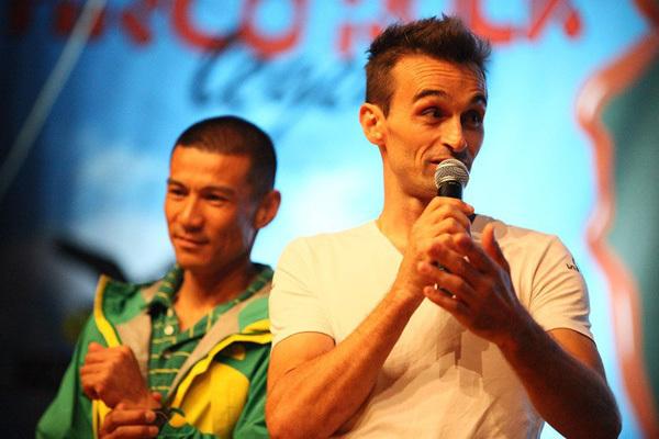 Yuji Hirayama и François Legrand. Фото Анна Пуинова