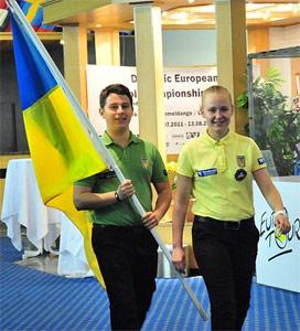 представители Украины на ЧЕ