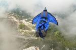 BASE прыжок в Доломитовых Альпах