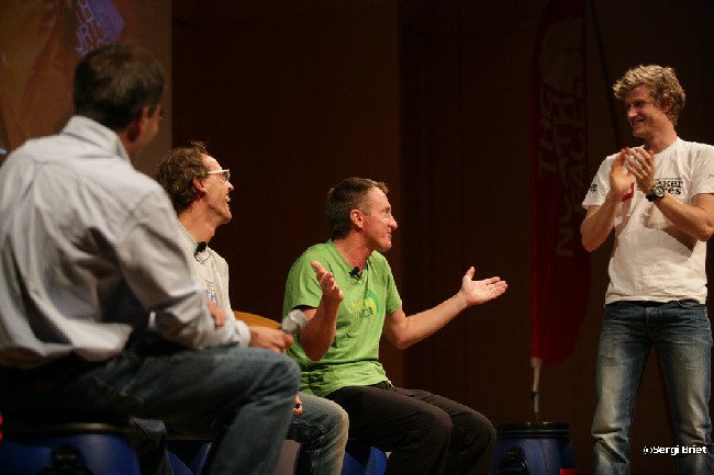 Darío Rodríguez, Simone Moro, Denis Urubko, Cory Richards