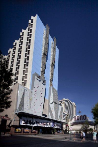 Самый высокий скалодром в мире. Reno (штат Невада, США)