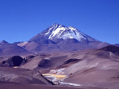 Ojos del Salado 6893 метра (Чили)
