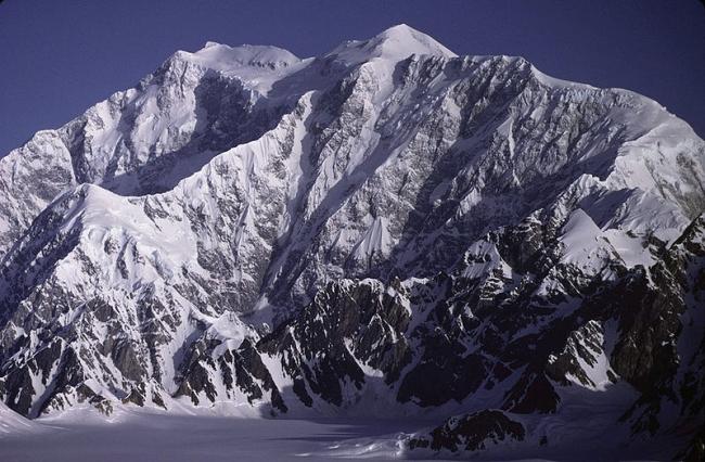 Mount Logan 5959 метров (Аляска)