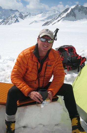 Mark Richey на Saser Kangri II East в 2009