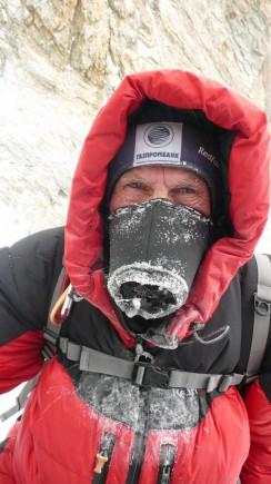 Зимнее восхождение на К2. Экспедиция Национальной команды России.