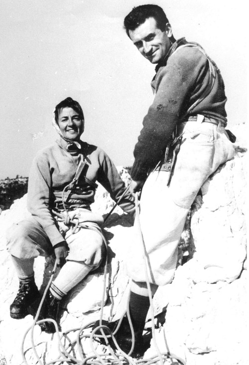 Жорж Ливанос (Georges Livanos) с женой Соней