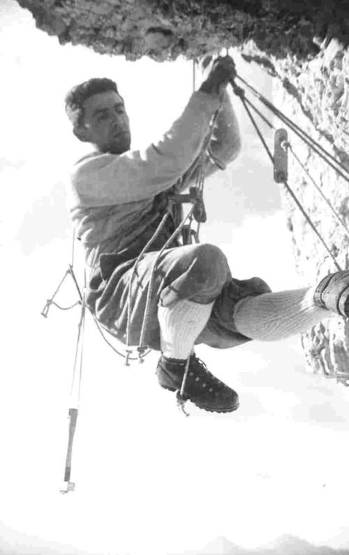 Robert Gabriel: Torre di Valgrande. В отвесе