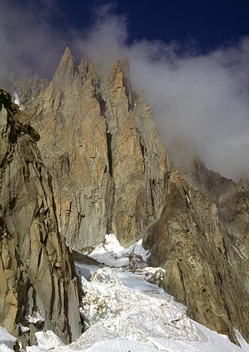 Mont Blanc du Tacul, Gervasutti Pillar