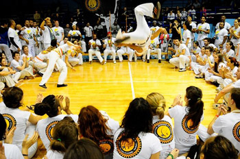 Мастер-класс Senzala Capoeira Russia 13-19 февраля 2012 года в Москве