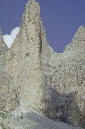 Cima Piccola di Lavaredo маршрут spigolo giallo