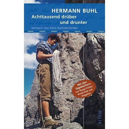 Новое издание книги Германа Буля Achtausend - drüber und drunter