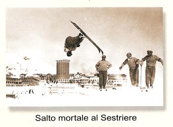 Джино Солда (GINO SOLDA) – первое «salto mortale» на горных лыжах.