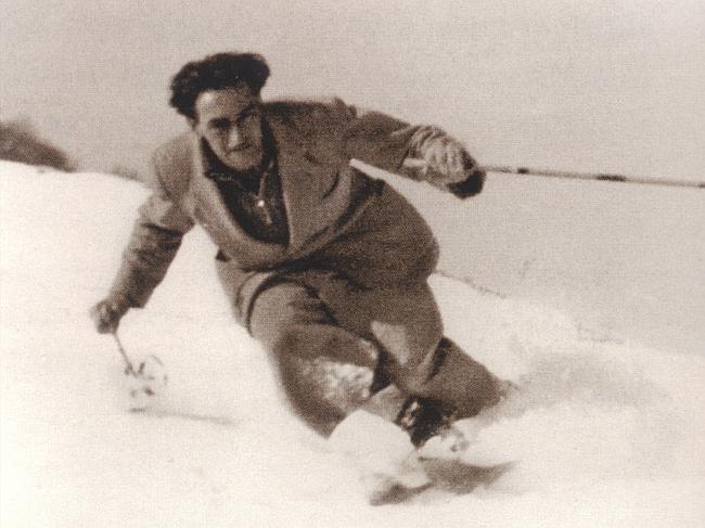 Джино Солда (GINO SOLDA) на горных лыжах