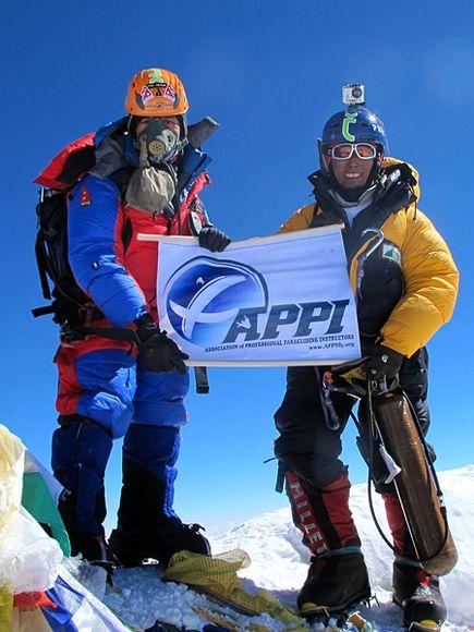 Lakpa Tsheri Sherpa и Sano Babu Sunuwar: на вершине Эвереста
