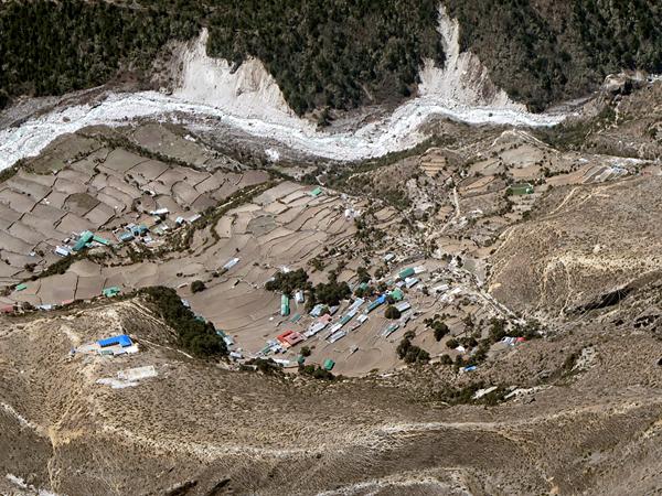 Lakpa Tsheri Sherpa и Sano Babu Sunuwar: место приземления