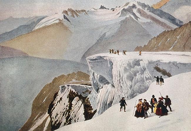 горные гиды из Compagnie des guides de Chamonix