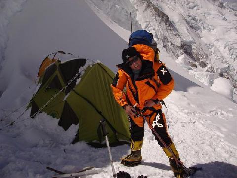 Romano Benet на Kangchenjunga в 2009 году