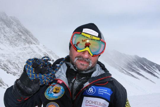 Виталий в Антарктиде