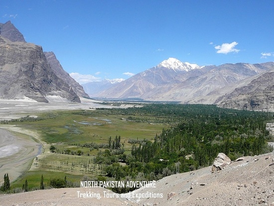 долина Shigar
